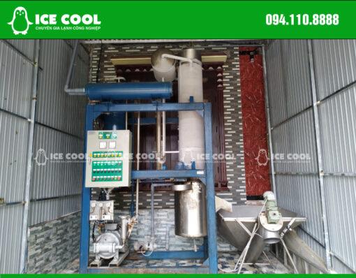Máy đá viên tinh khiết 2 Tấn ICE COOL lắp đặt tại Quảng Bình